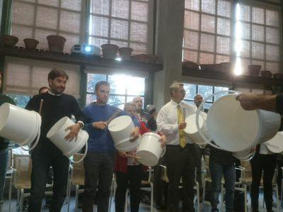 Stefano Corradi Team Building Musica bidoni