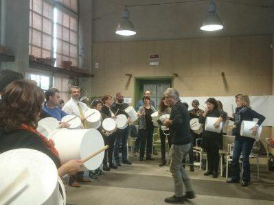 Stefano Corradi Team Building Musica gruppo secchi