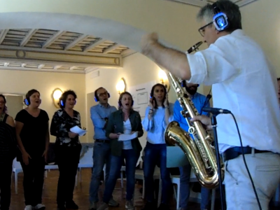 Stefano Corradi Team Building Musica sax